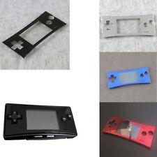 Placa Frontal Funda Cover Remplacement para Nintendo Game Boy Micro GBM Consola