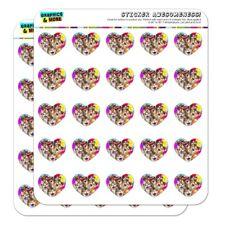 Cats Hawaiian Luau Party Selfie Heart Planner Scrapbook Craft Stickers