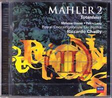 Riccardo Chailly MAHLER SYMPHONY NO. 2 Resurrection 2cd Melanie Diener Petra Lang