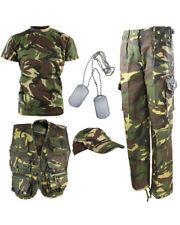 Kids Camo Outfit KIDS DPM CAMO EXPLORER ARMY KIT PLAY KIT [SET 67]  KIDS ARMY