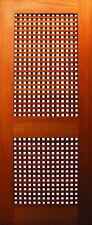 Timber Gates - Single Lattice Lockrail - All Sizes