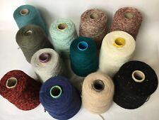 rocche di pura lana da gr.500 in offerta per lavori a ferri uncinetto e macchina