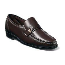 Florsheim Men's Riva Brown Shoes Slip On 17088-02
