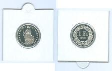 Schweiz  1 Franken PP KMS (Wählen Sie unter: 1975 - 2014)