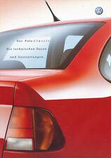 VW Polo Classic Technische Daten Ausstattungen Autoprospekt 4 01 Prospekt 2001