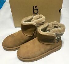 Ugg Australia Women's Boots Adria Art Deco Strap Double Bow 1013306 US 6 EU 37