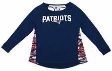 Zubaz Women's NFL New England Patriots Racer Back Shirt Top
