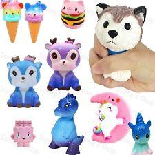 Kawaii Galaxy Dinosaur Deer Scented Squishy Slow Rising Squeeze Toys Kid Gift UK