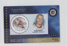 2000 Canada Post NHL All-Star Game #2 Gordie Howe Detroit Red Wings Hockey Card