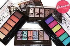 TECHNIC Very sleek 6 Eyeshadow Palette - Nudes, Pastels, Brights, Smokey, Pastel