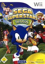 Nintendo Wii Spiel SEGA SUPERSTARS TENNIS  (2009)  Neu & OVP