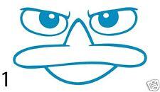 Perry The Platypus Cartoon Window Car Truck Laptop Vinyl Decal Sticker