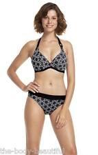 FANTASIE Rodi U / W allacciatura dietro il collo Bikini Pantalone bra+classic set-black-various