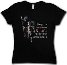 TEMPLAR I T-SHIRT - Cross Knight Ordo Crusade Crusader