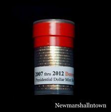 2007 2008 2009 2010 2011 2012 Denver Presidential Mint Roll Set ~ No Proof S