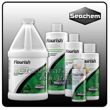 Seachem Flourish acuario alimento vivo plantas oligoelementos nutrientes Pecera