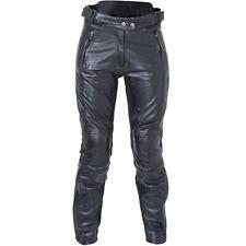 RST Motorbike Motorcycle Womens Ladies Kate Leather Jeans - Black