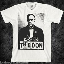 Mob gangster the godfather t shirt, al capone, Don Corleone Brando, mafia