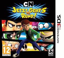 CN Cartoon Network Jetzt geht´s Rund!, Nintendo 3DS Spiel, Neu, deutsche Version