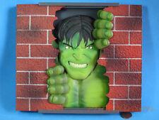 Marvel Avengers Incredible Hulk WALL BREAKING Dekoration Dekor Figur Modell A202