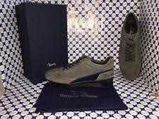 Scarpe HARMONT & BLAINE Uomo - Sneakers Camoscio Piedipull - Tortora - E9063