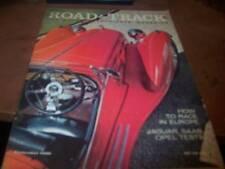 Road & Track Magazine 9/1958 - 1934 2.3 Alfa Romeo