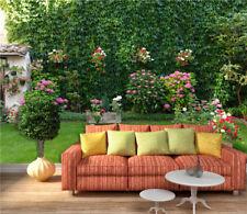 3D Garten Wiese Blumen 778 Tapete Wandgemälde Tapeten Bild Familie DE Lemon
