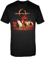 Official A Perfect Circle E Motive Adult T-Shirt -Retro Rock Music Band Maynard