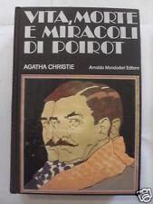 VITA,MORTE E MIRACOLI DI POIROT 1°EDIZIONE 1976