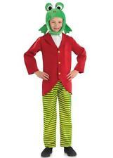 SIGNOR per Bambini Rana/Rospo vento tra i wilows Costume Mondo Libro Giorno Costume