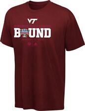 Virginia Tech Hokies 2012 BCS Sugar Bowl Bound t-shirt Adidas new NCAA Va Tech