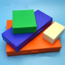 1pc Microscope Slide Box Clasp standard Slots Beige Plastic Shell Color Random