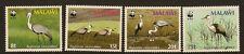 MALAWI : 1987 Birds -World Wildlife Fund-SG 759-62 unmounted mint