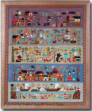Barbara Ana Cross Stitch A New World Charts + Linens Worldwide Shipping