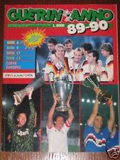 GUERIN SPORTIVO ANNO 1989/90 NAPOLI JUVENTUS MILAN SAMPDORIA CIFRE STATISTICHE