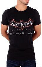 Ringspun hombre niño Batman Arkham verano ESTRELLA NEGRO Camiseta G Hip