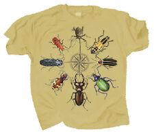 Beetle Circle Adult T Shirt Medium through 2XL