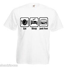 Love Junk Food Burgers Adults Mens T Shirt 12 Colours Size S - 3XL