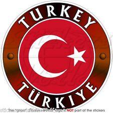 TÜRKEI Stoßstange TÜRKISCHE Türkiye 100mm Vinyl Sticker Aufkleber