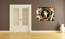 "Fototapete Peter Paul Rubens - Alte Meister ""Madonna im Blumenkranz"""