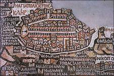 Poster, Many Sizes; Jerusalem From Madaba Map
