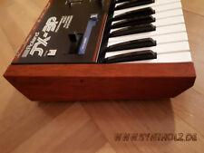 Wooden side panels for Roland JX-3P. Echtholz Seitenteile