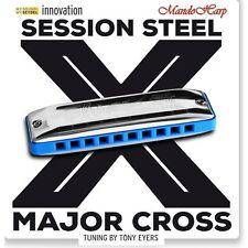 Seydel Harmonica - 10315 Session Steel Major Cross (SELECT KEY) NEW