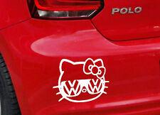 Sticker Vinilo - VW Hello Kitty - Vinyl - Car Tunnig -Pegatina - Wall Art Decall