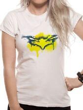 Official T Shirt BATMAN- MASK SPRAY Sizes S M XL White Womens Licensed Merch New