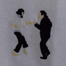 Pulp Fiction Dance Tarantino Blanc T-shirt manches longues T-shirt en réalité