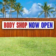 Body Shop Now Open Advertising Vinyl Banner Flag Sign Large Huge X 00004000 Xl Size