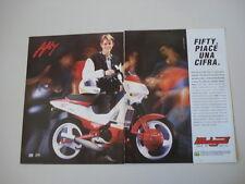 advertising Pubblicità 1992 MALAGUTI FIFTY TOP 50