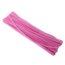 100 Pièces 30cm Chenille de Couleur Tiges Pipe Cleaner Twist-Flex Rods