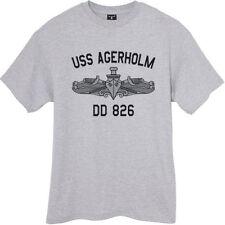US USN Navy USS Agerholm DD-826 Destroyer T-Shirt